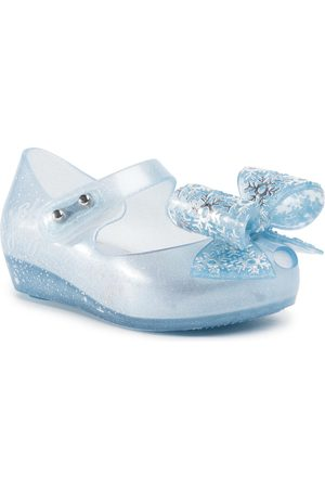 Melissa Fille Chaussures basses - Chaussures basses - Mini Ultragirl+Froze 32851 Pearl/Blue/Glitter 53645