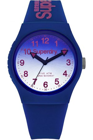 Superdry Montre Superdry Urban Laser SYG198UU - Montre Bleue Dégradée Mixte