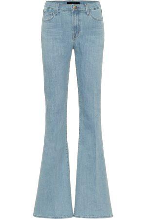 J Brand Jean flare Valentina à taille haute