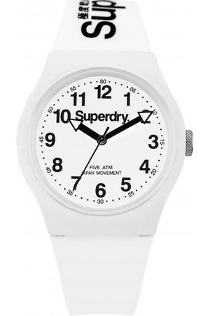 Superdry Montre Superdry SYG164WW - Montre Ronde Blanche Mixte