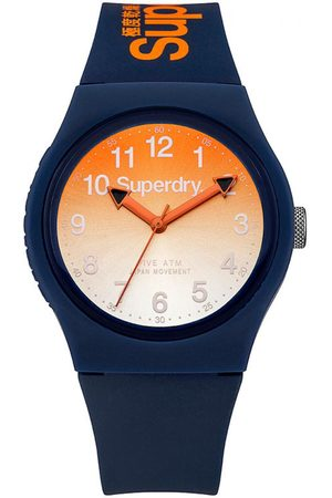 Superdry Montre Superdry Urban Laser SYG198UO - Montre Orange Dégradée Mixte