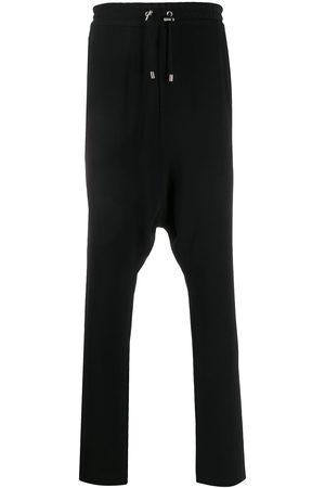 Balmain Pantalon en crêpe à effet sarouel