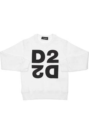 Dsquared2 Sweat-shirt En Coton À Imprimé Logo