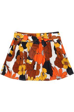 DODO BAR OR Mini-jupe imprimée en coton