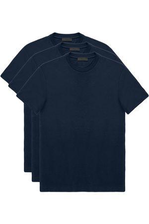 Prada Lot de trois t-shirts classiques