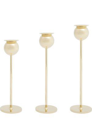 Skultuna Tulip set of 3 candlesticks