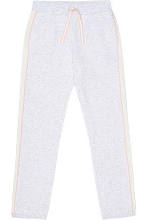 Loro Piana Pantalon de survêtement en coton mélangé
