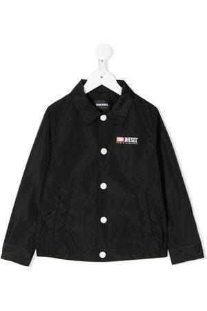 Diesel Veste façon chemise imperméable