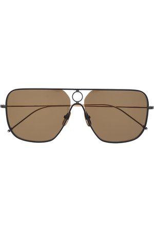 Thom Browne Lunettes de soleil à monture carrée