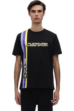 """GUESS SPORT T-shirt En Jersey Imprimé """"pleasures Racing"""""""