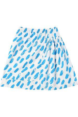 Marni Printed Cotton Poplin Skirt