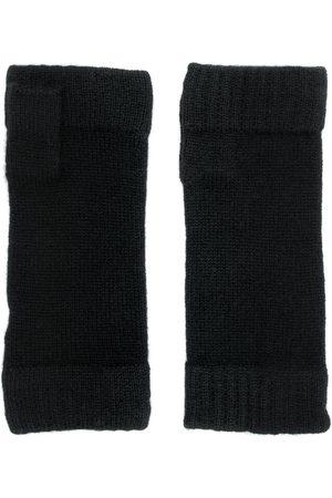 N.PEAL Finger-less knitted gloves