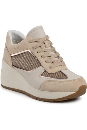 Geox Sneakers - D Zosma A D028LA 0AS22 C2217 Gold/Sand