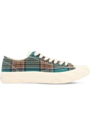 AGE - ACROSS TO GENUINE ERA Sneakers En Coton À Carreaux