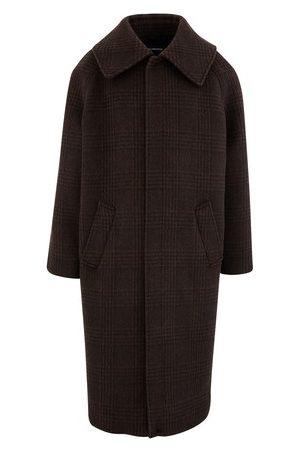Balenciaga Manteau en laine Incognito