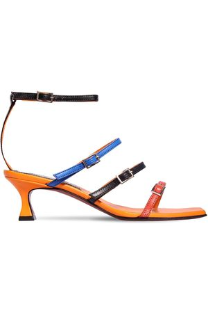 MANU 50mm Naomi Leather Sandals