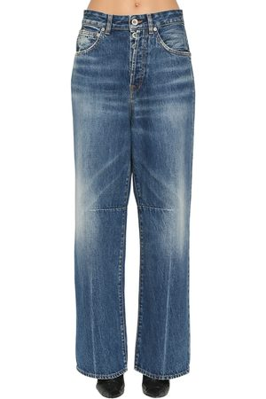 UNRAVEL Jean Ample En Denim De Coton