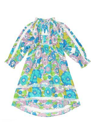 DODO BAR OR Robe asymétrique imprimée en coton