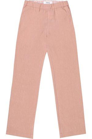 BONPOINT Pantalon Mikki en coton et lin