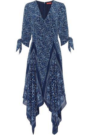 Altuzarra Robe Elvira imprimée en soie