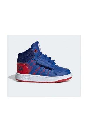 adidas Bébé Baskets - Chaussure Hoops Mid Spiderman pour bébé