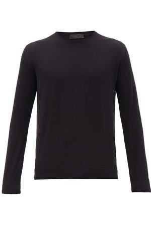 Prada T-shirt manches longues en laine vierge