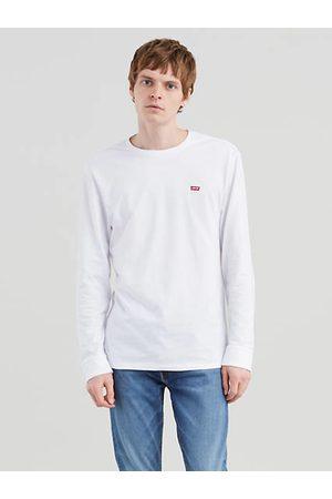 Levi's Long Sleeve Original Logo Tee / Patch White