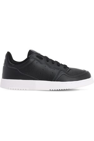 ADIDAS ORIGINALS Supercourt Leather Lace-up Sneakers