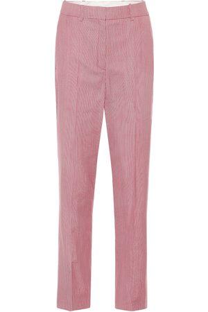 RACIL Pantalon droit Michael en laine mélangée