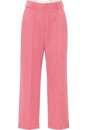 RACIL Pantalon ample Charlie en coton mélangé