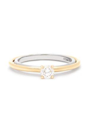 CHARLOTTE CHESNAIS Bague en 18 carats et diamant Elipse Solitaire