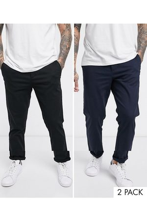 ASOS Lot de 2 pantalons chino coupe slim