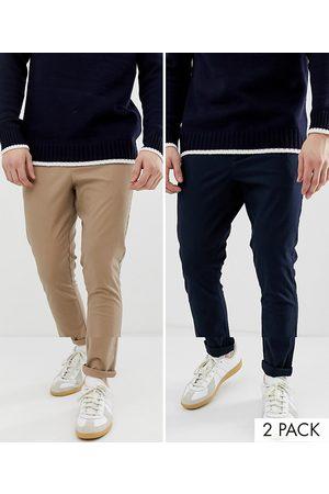 ASOS Lot de 2 pantalons chino super ajustés