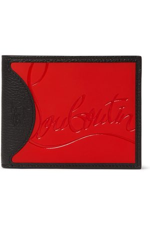 Christian Louboutin Homme Portefeuilles - Logo-Debossed Leather and PU Billfold Wallet