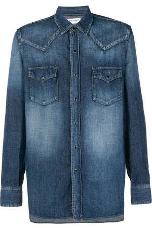 Saint Laurent Chemise en denim
