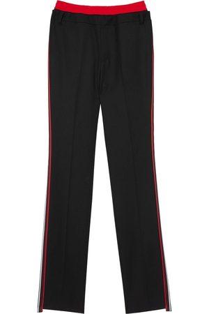 Burberry Pantalon de jogging à taille superposée