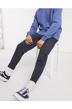 ASOS Pantalon habillé fuselé à fines rayures