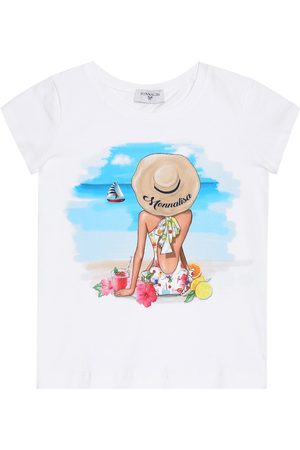 MONNALISA T-shirt imprimé en coton