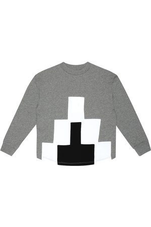 Marcelo Burlon Kids of Milan Sweat-shirt en coton mélangé