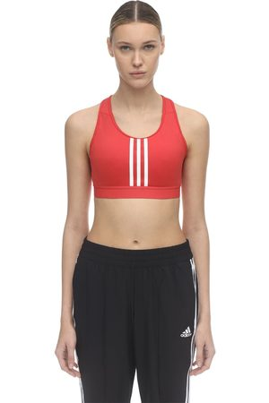 "ADIDAS PERFORMANCE Brassière De Sport En Nylon Stretch ""3 Stripe"""