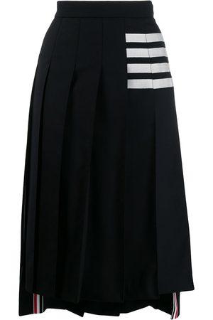 Thom Browne Jupe mi-longue plissée