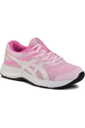 Asics Chaussures - Contend 6 Gs 1014A086 Cotton Candy/White 700