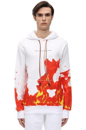 IHS Sweat-shirt Imprimé À Capuche