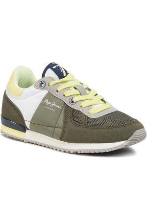 Pepe Jeans Sneakers - Sydney Basic Boy PBS30428 Khaki Green 765
