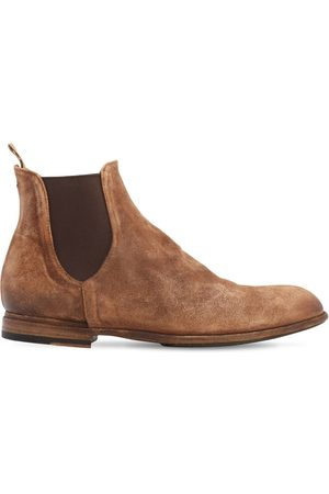 Pantanetti 25mm Suede Chelsea Boots