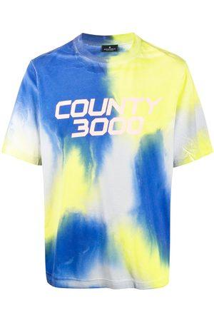 Marcelo Burlon County Of Milan T-shirt imprimé tie-dye à logo