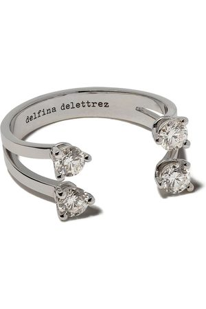 Delfina Delettrez Bagues - Bague Dots ornée de diamants