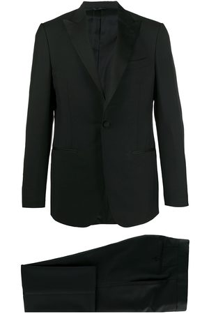 DELL'OGLIO Fitted tuxedo suit