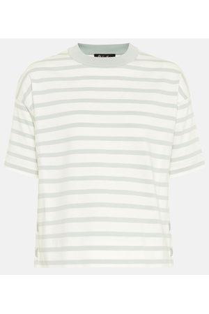 Loro Piana T-shirt rayé en coton