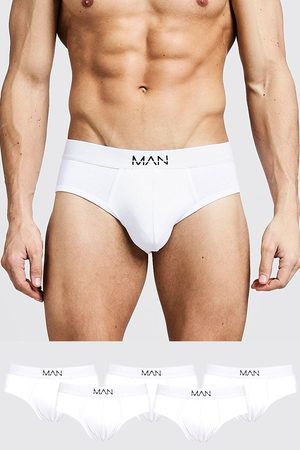 Boohoo 5 Pack MAN Dash Briefs Homme
